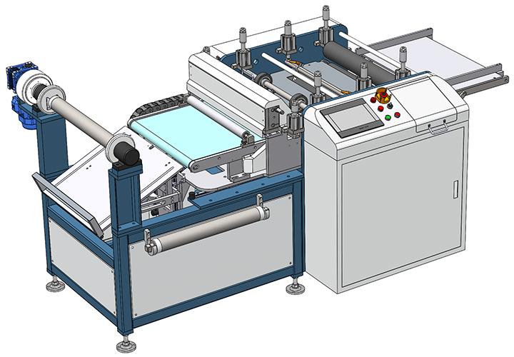 PI膜分切机